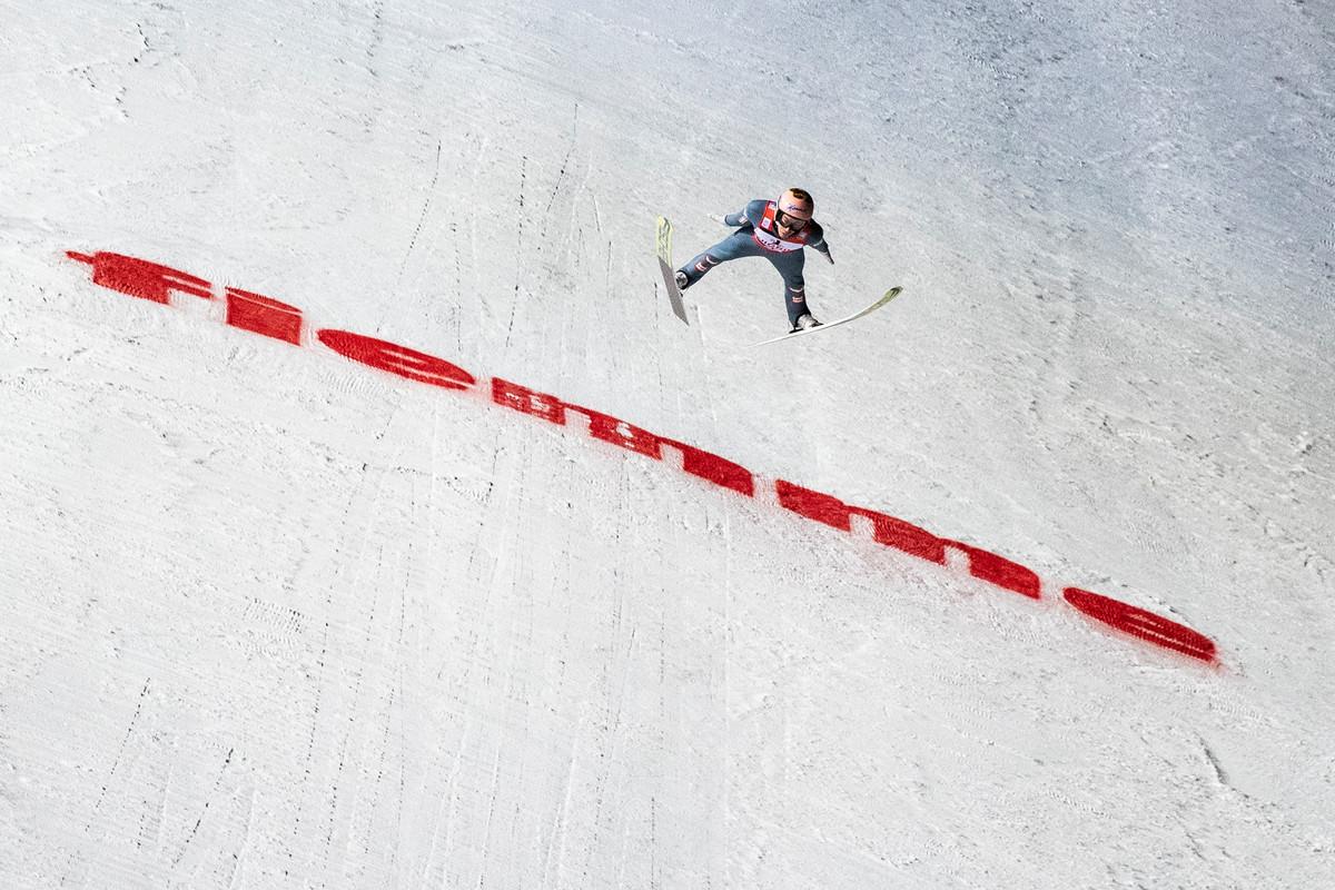 Salto con gli sci trampolino olimpico 2026 a predazzo